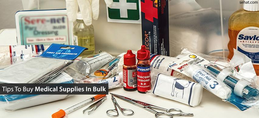Tips to buy medical supplies in bulk