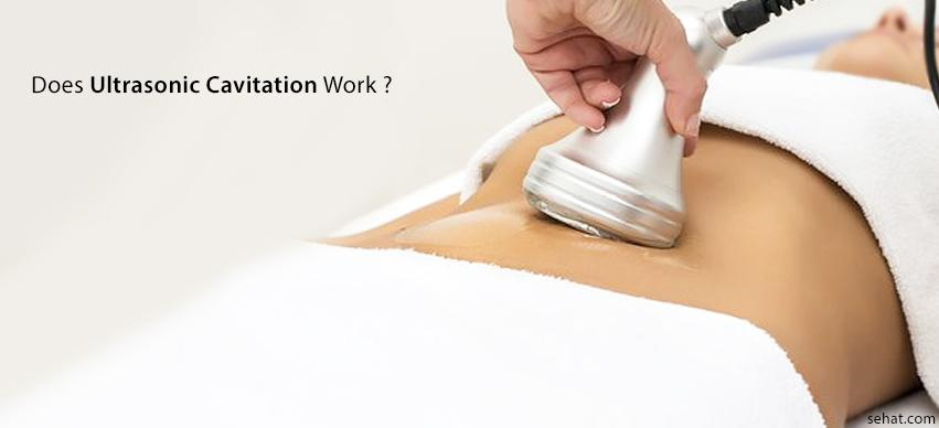 Does ultrasonic cavitation work