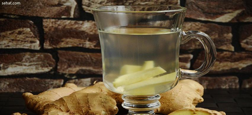Ginger and lemon water - Fat burning drink at home