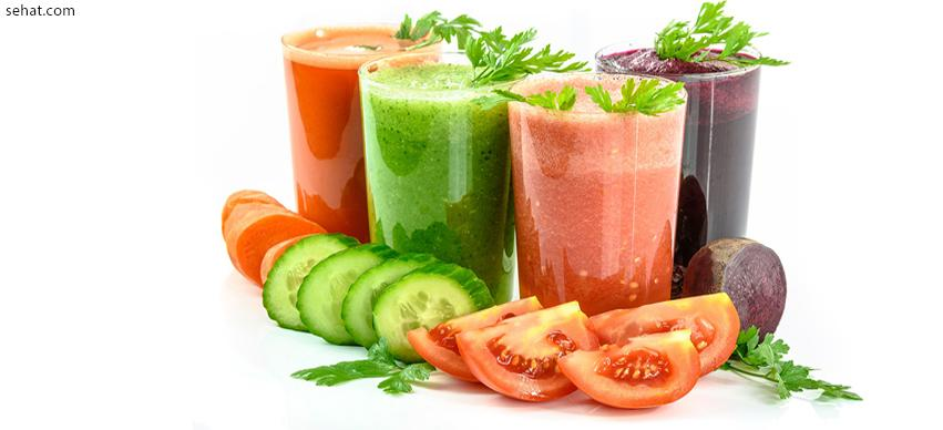 Vegetable juice-Fat burning drinks at home