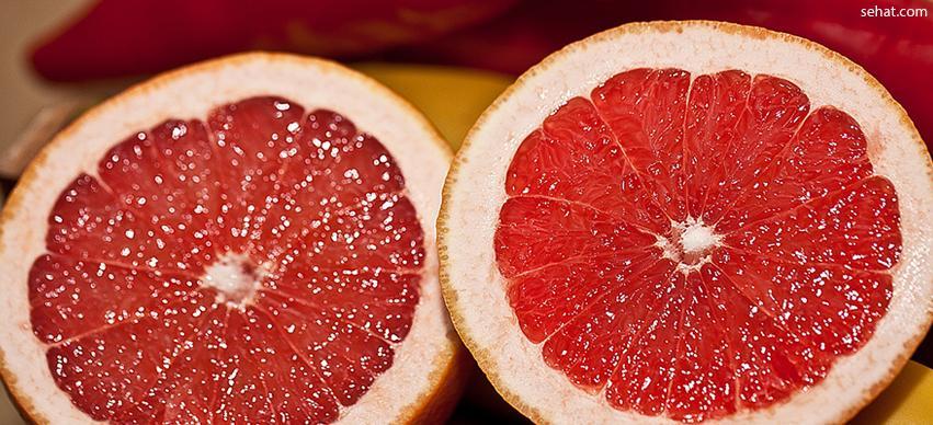Grapefruit-best low in sugar fruit for diabetes