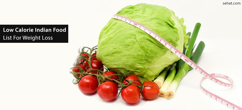 low calorie Indian food list for weight loss