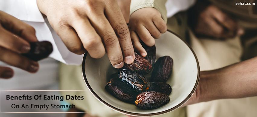 Benefits of eating dates on an empty stomach