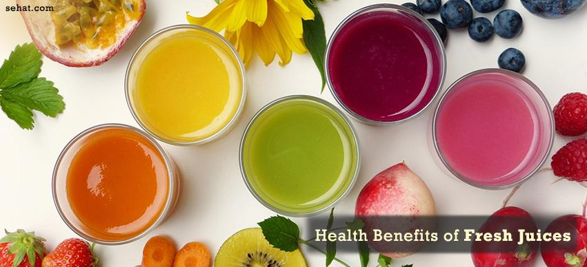 Health Benefits of Fresh Juices