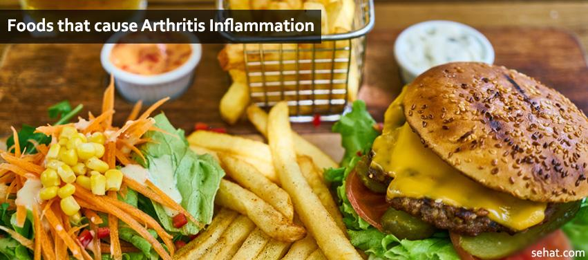 List Of Foods That Cause Arthritis Inflammation