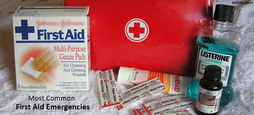 Most Common First Aid Emergencies