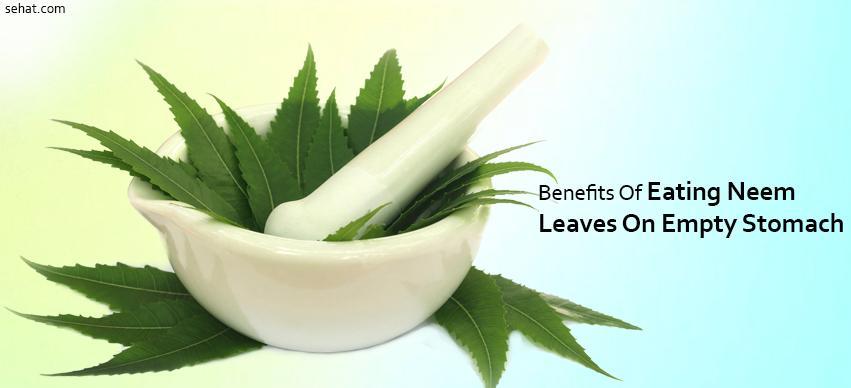 Benefits Of Eating Neem Leaves