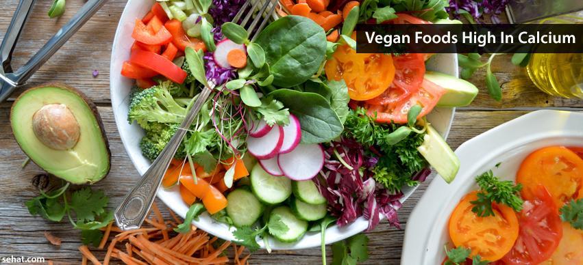 Vegan Foods High In Calcium
