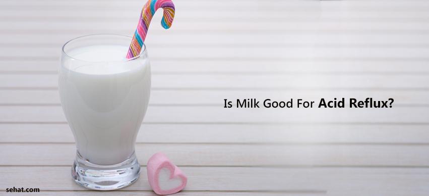 Is Milk Good For Acid Reflux?