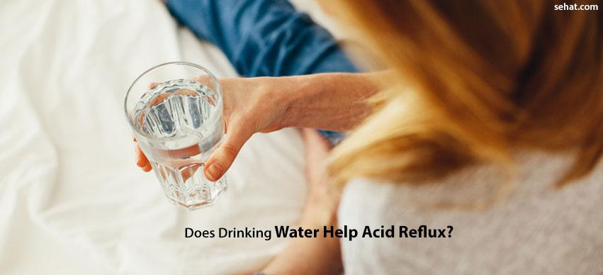 Does Drinking Water Help Acid Reflux