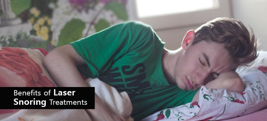 Benefits of Laser Snoring Treatments