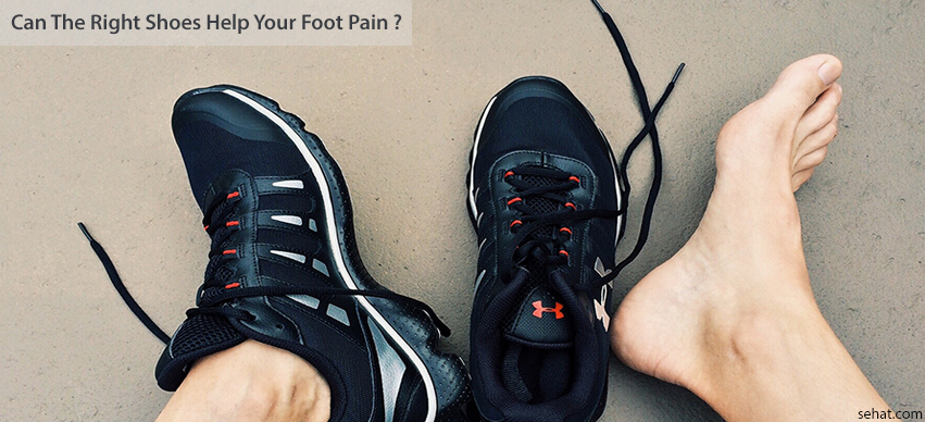 Can The Right Shoes Help Your Foot Pain?