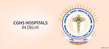 CGHS Hospitals List In Delhi