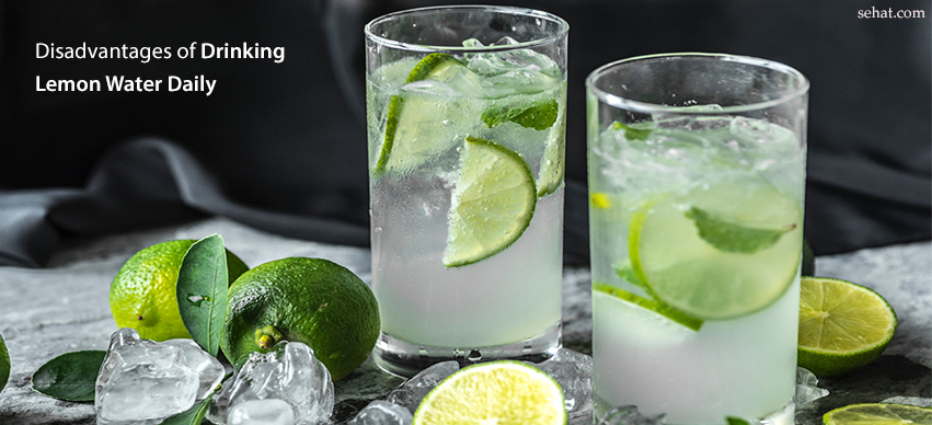 Disadvantages Of Drinking Lemon Water Daily