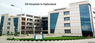 ESI Hospitals List In Hyderabad