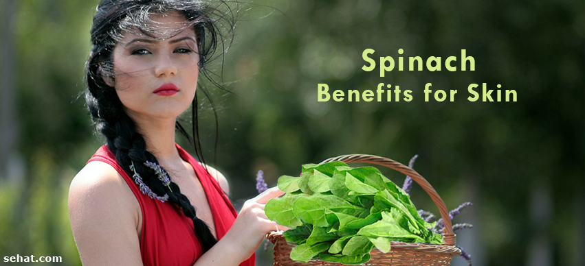 Get Glowing Skin with Spinach