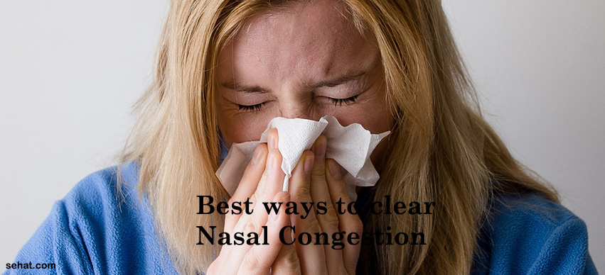 How to Clear Nasal Congestion?