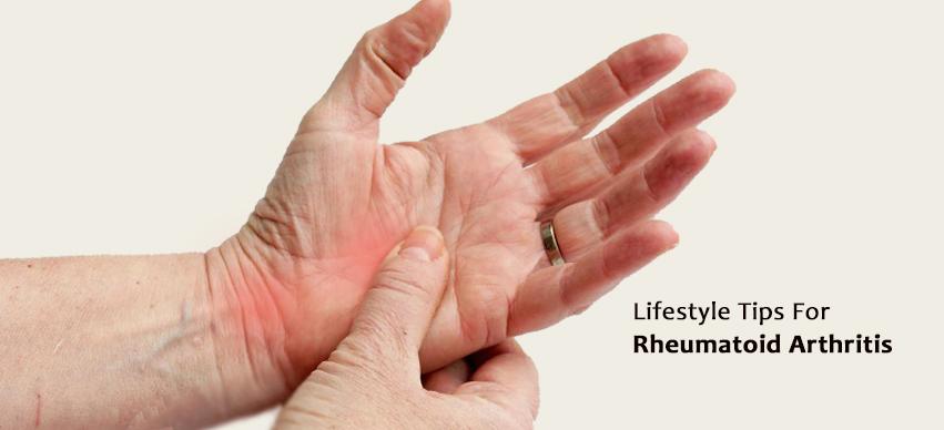 Lifestyle Changes Help Relieve Symptoms of Rheumatoid Arthritis