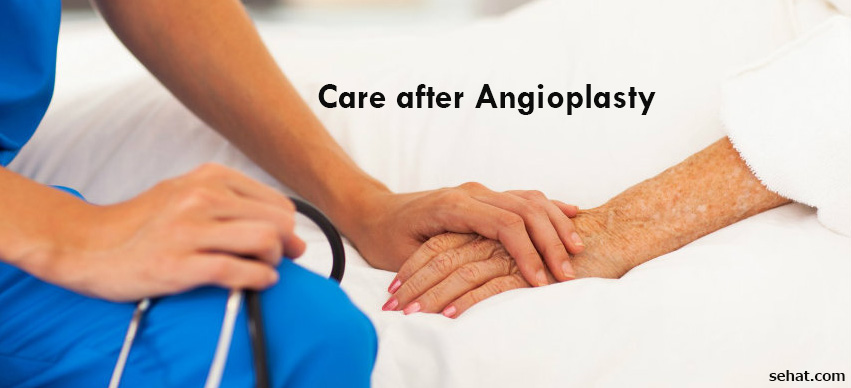 How to Care after Angioplasty