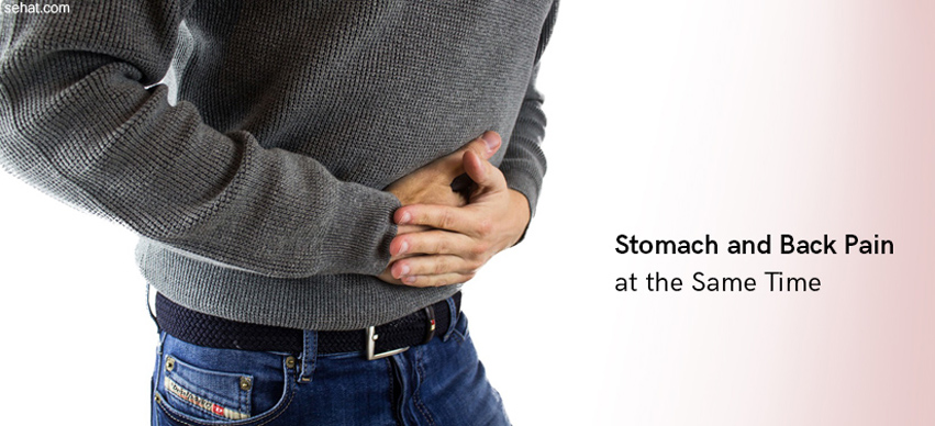 Stomach And Back Pain At The Same Time