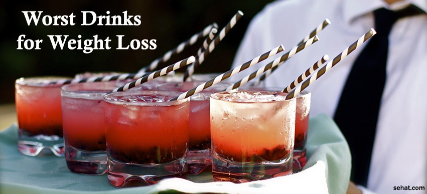 The Worst Drinks While On a Weight-Loss/Detox Diet