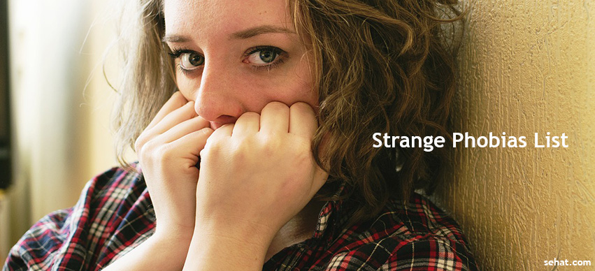Top 10 List of Strange Phobias and Fears you Probably Didn't Know About