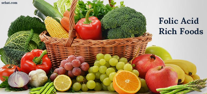 Top 20 Foods High in Folic Acid