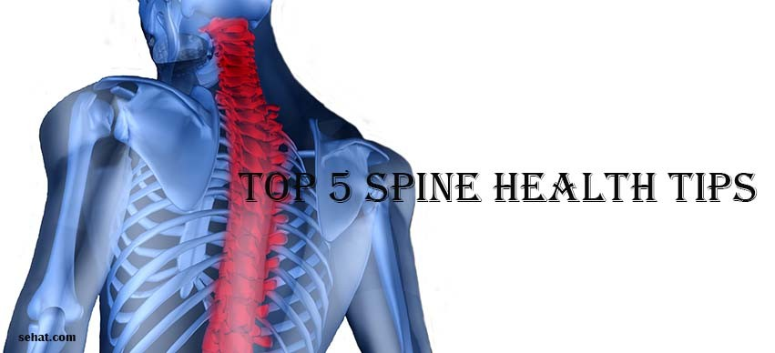 Top 5 Spine Health Tips