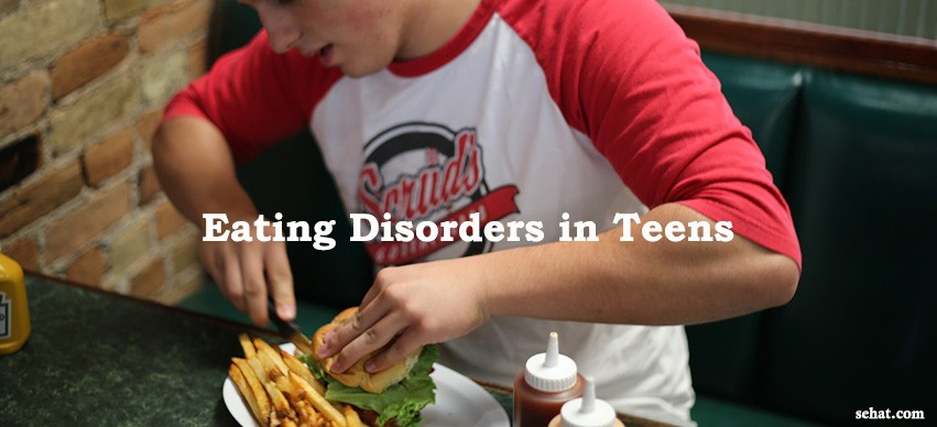 Warning Signs for Eating Disorders in Teen
