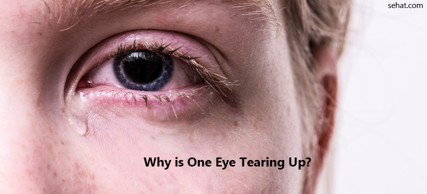 Why Is One Eye Tearing Up?