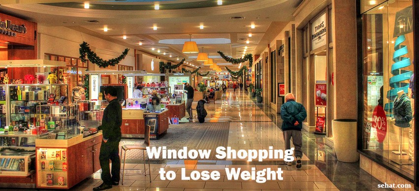 Window Shopping To Lose Weight