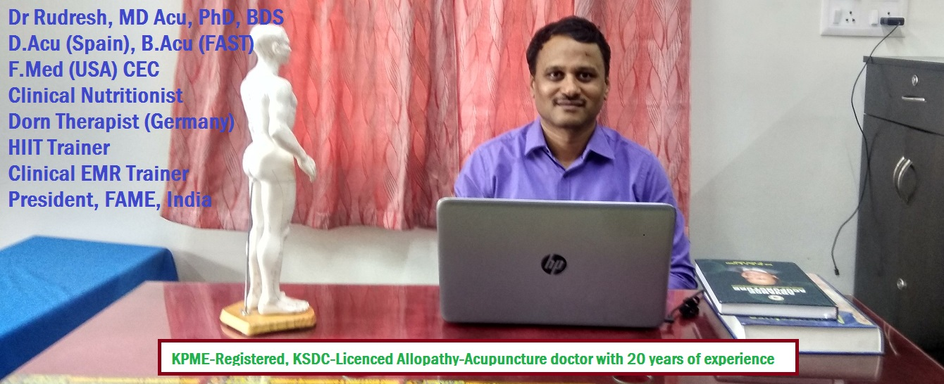 Dr. Rudresh, Acupuncture Specialist - Contact Details for ...