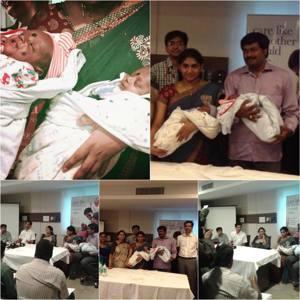 26 Weeks Old Neonatal Twins Delivered at Motherhood, Hyderabad