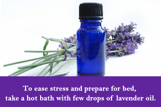 Lavender Oil for easing stress
